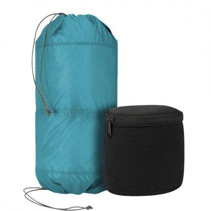 Trekmates 2 Tier Padded Stuff Bag 6L - ultra leichter Packsack mit 2 Packfächern und 2 separate Neopren Boxen