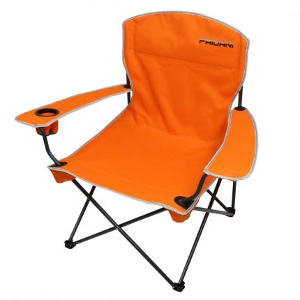 Fridani FCO 90 - XXL Camping-Stuhl mit flexiblen Armlehnen, faltbar, inkl. Tasche, 3350g