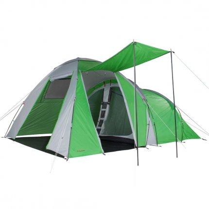 Fridani DTG 500 - 5 Personen Kuppel-Zelt mit Vorraum, 3000mm, 400x300x205cm, 12,5kg, Familienzelt