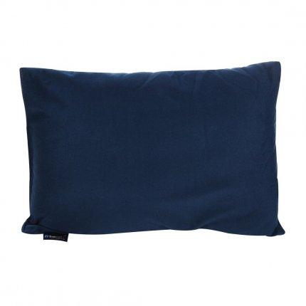 Trekmates Deluxe Pillow - Camping Kissen 40x30 cm, weiches Fleece Kopfkissen, Mikrofaser Nackenkissen, Reisekissen mit Packsack für Camping, Urlaub, Reise, Trekking und Outdoor