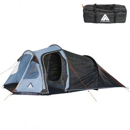 10T Zelt Mandiga Arona 5 Mann Tunnelzelt wasserdichtes Campingzelt 5000 mm Familienzelt + Stehhöhe