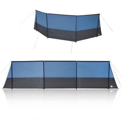 yourGEAR Windschutz Levante 600 stabiler Sicht- und Sonnenschutz mit Querstangen 600x140 cm Camping Strand Garten