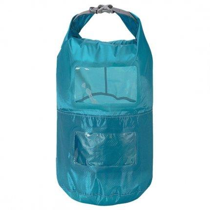 Trekmates Multi Tier Dry Lite Liner 10L - ultra leichter und kompakter Packsack mit Sichtfenster und Packfachaufteilung