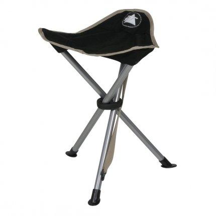 10T Tripod - Camping-Stuhl Dreibein-Hocker 40 cm Sitzhöhe handliche 800g leicht