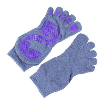 Spirit Yoga Socks M/L - Anti-Rutsch Socken für Yoga, Fitness, Pilates, Turnen und Tanzen