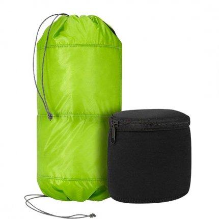 Trekmates 2 Tier Padded Stuff Bag 10L - ultra leichter Packsack mit 2 Packfächern und 2 separate Neopren Boxen