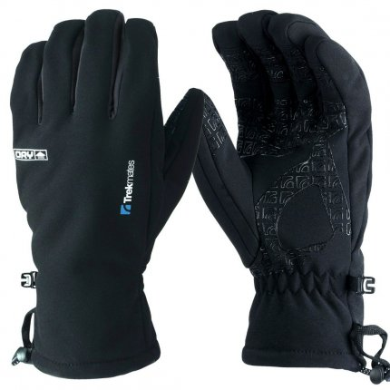 Trekmates Robinson Glove Men M - hochwertiger Soft Shell Finger Handschuh mit DRY Technologie für Männer