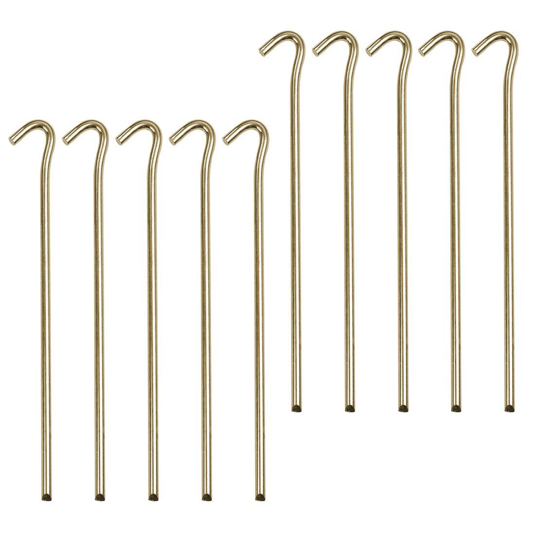 Set Peg IT 10VP 22SV10 Steel V-Profile-Pegs 18 x 220 mmTent Peg