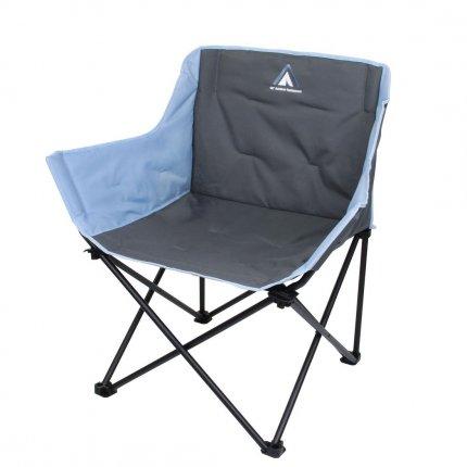 10T Campingstuhl Jace Arona XXL Klappstuhl bis 130 kg Stuhl mit Getränkehalter + Seitentasche