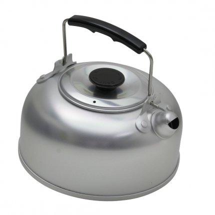 10T Kettle 950 - Tee-Kessel mit Deckel und Isoliergriff Aluminium Wasserkessel 0,95 Liter