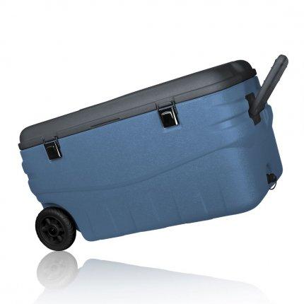 yourGEAR Coolah 80 L Kühlbox passiver Kühlbehälter PU Thermo-Box mit Rollen Kühltasche Isolierbox warm & kalt
