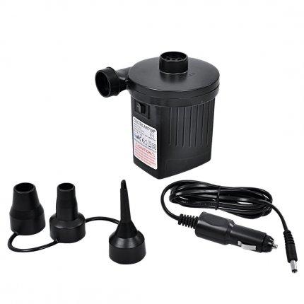Jilong AC / DC Pump - Elektro Luftpumpe für 230V und 12V Steckdosen mit max. 2500 Pa Pumpendruck