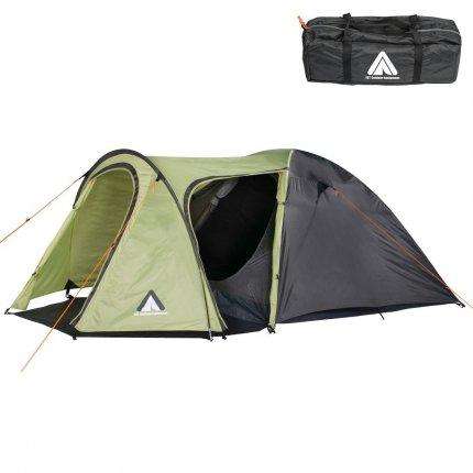 10T Zelt Jumbuck Beechnut 4 Mann Kuppelzelt wasserdichtes Campingzelt 5000mm Igluzelt mit Wohnraum