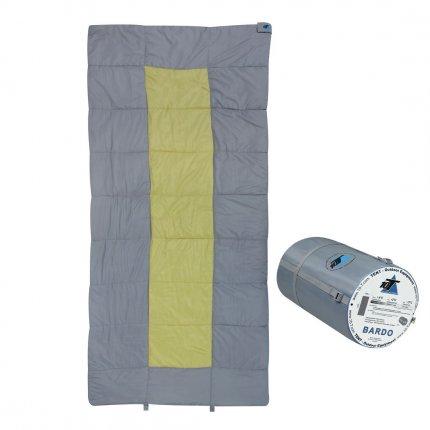 10T Bardo - XXL Decken-Schlafsack bis -13°C ohne Kapuze, 200x100 cm, 2000g leicht, 3 Jahreszeiten, Camping & Trekking