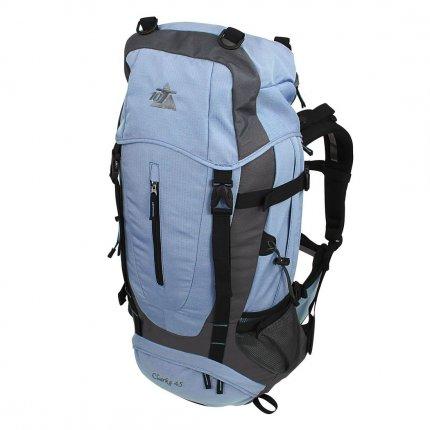 10T Clarke 45 - Touren-, Wander-Rucksack 45 Liter, Funktions-Staufächer, Regenschutz, 1350g