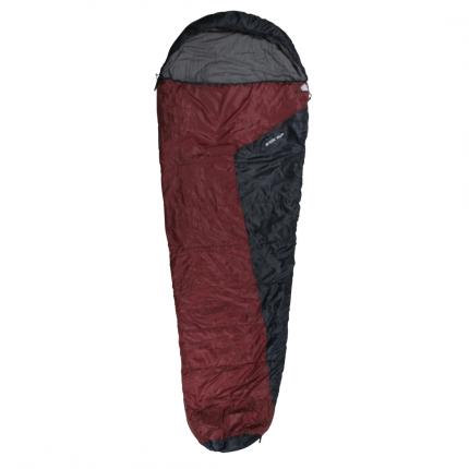 10T Arctic Sun - Einzel Mumien-Schlafsack 230x85cm rot/dunkelblau 1700g bis -16°C