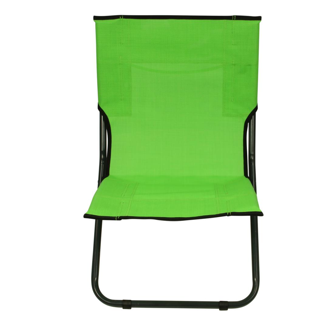 Fridani Beach Chair Bcg Xl Camping Chair Green Folding Chair With Handle Air Permeable Garden Chair
