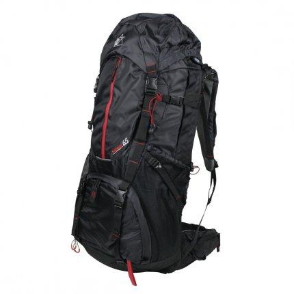 10T Seneca - Reise-Rucksack 65 Liter Funktions-Staufächer mit Regenschutz 2860g