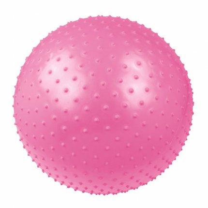 Carnegie Massageball Ø 55 Noppen-Ball Gymnastikball Fitnessball + Pumpe, geeignet für Selbstmassage