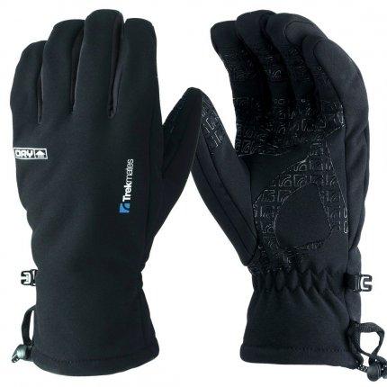 Trekmates Robinson Glove Men L - hochwertiger Soft Shell Finger Handschuh mit DRY Technologie für Männer