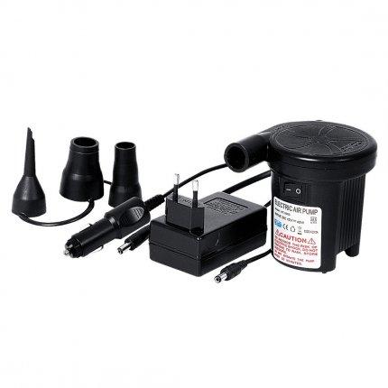 Jilong DC-AC Pump - Elektro Luftpumpe für 230V Steckdosen oder 12V Anschluß (Zigarettenanzünder) mit max. 2500 Pa