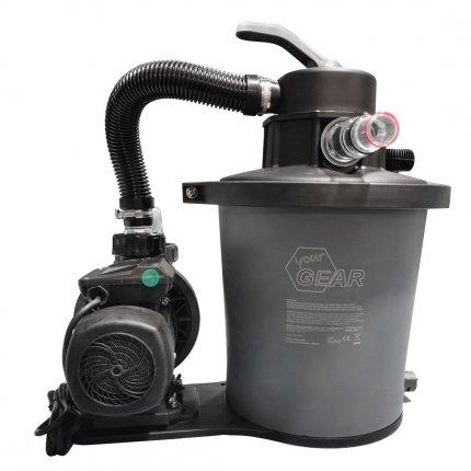 yourGEAR Sand-Filteranlage SFP PRO 6813 L/h Sandfilter Pool-Pumpe 3m³/h Schwimmbadpumpe + 6 Wege Ventil