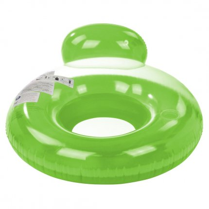 Jilong Pool Lounge Green Ø 118cm Poolsessel Schwimmsitz Wassersessel Wasser-Sofa mit Getränkehalter