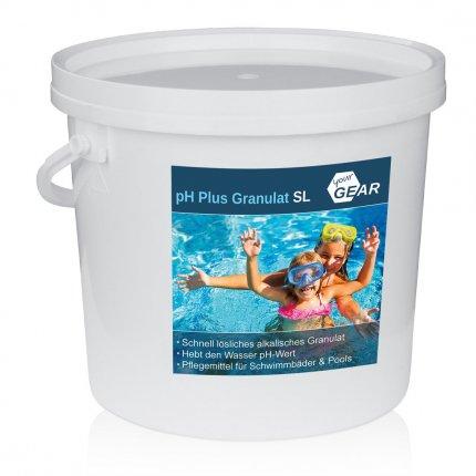 yourGEAR 5 kg pH Plus Granulat SL schnelllöslicher pH Heber zur optimalen ph-Wert Stabilisierung des Pool-Wassers