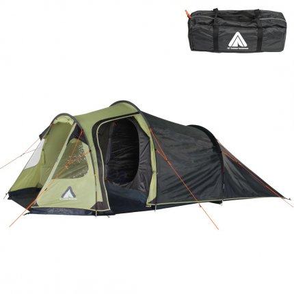 10T Zelt Mandiga Beechut 5 Mann Tunnelzelt wasserdichtes Campingzelt 5000 mm Familienzelt + Stehhöhe