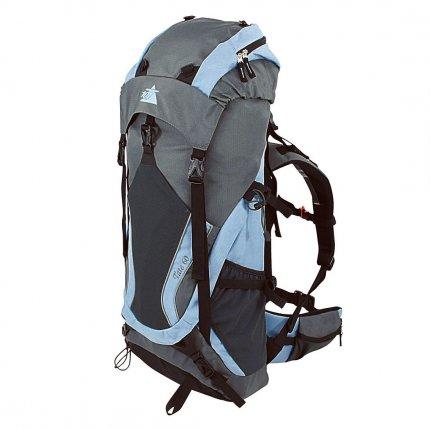 10T Tate 60 - Touren-, Trekking-Rucksack 60 Liter, Funktions-Staufächer, Regenschutz, 1650g