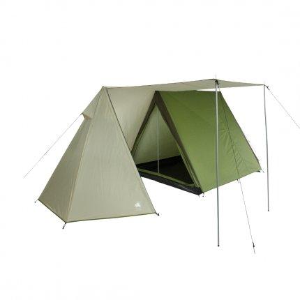 10T Mungaroo 3 - 3 Personen Trekking Doppeldach First-Zelt mit Vorraum, 3000mm