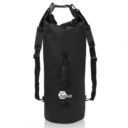 yourGEAR Dry Bag 50 L wasserdichter Rucksack Packsack Seesack Stausack mit Schultergurten, Tragegriff und Ventil