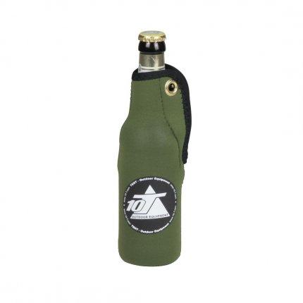 10T Cooler BC 500 - Neopren Dosen- und Flaschen-Kühler 350ml dehnbare Isolierung Reißverschluss Ø 6cm