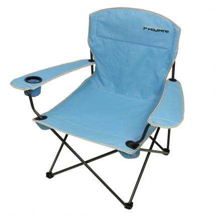 Fridani FCB 90 - XXL Camping-Stuhl mit flexiblen Armlehnen, faltbar, inkl. Tasche, 3350g