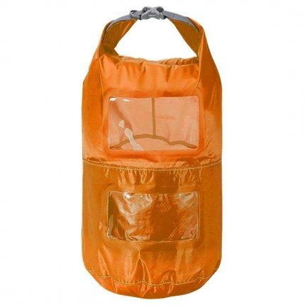 Trekmates Multi Tier Dry Lite Liner 6L - ultra leichter und kompakter Packsack mit Sichtfenster und Packfachaufteilung