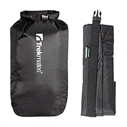 Trekmates Dry Lite Liner M (8L) - schwarzer Packsack, 120g, Volumen 8L, wasserdicht