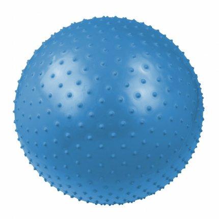 Carnegie Massageball Ø 65 Noppen-Ball Gymnastikball Fitnessball + Pumpe, geeignet für Selbstmassage