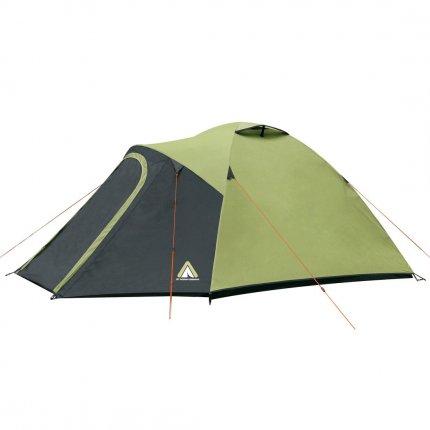 10T Cardiff 5 - 5 Personen Kuppelzelt, Campingzelt mit großer Schlafkabine, wasserdichtes Trekking Zelt mit 5000mm,