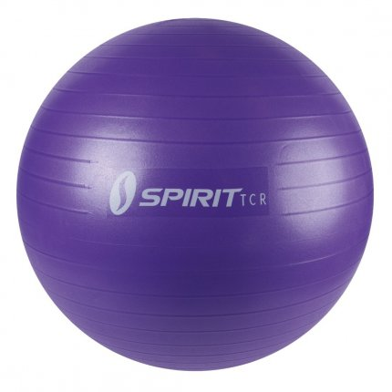 Spirit Exercise Ball Ø 65cm - Fitness-, Pilates-, Sitz-, Gymastikball, bis 136 kg