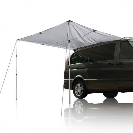 yourGEAR Motorhome Tarp 260 x 240 Sonnensegel inkl. Aufstellstangen für Camping Bus, Van, Auto wasserdicht 5000mm