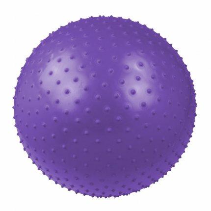 Carnegie Massageball 75 - Gymnastikball, Sitzball, Fitnessball inkl. Pumpe, Ø75 cm, Anti-Burst-System max 300kg