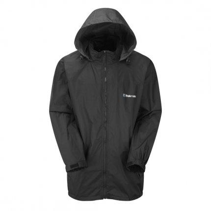 Trekmates Waterproof Jacket L - wasserdichte, atmungsaktive Regenjacke mit Kapuze, versiegelte Nähte, unisex, 3000mm