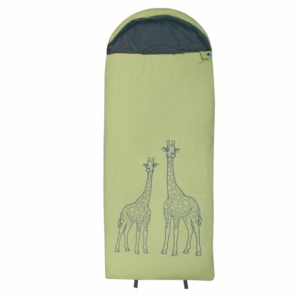 10T Giraffe - XL Kinder Decken-Schlafsack 180x75cm, Motiv Giraffe, warme 300g/m² Füllung