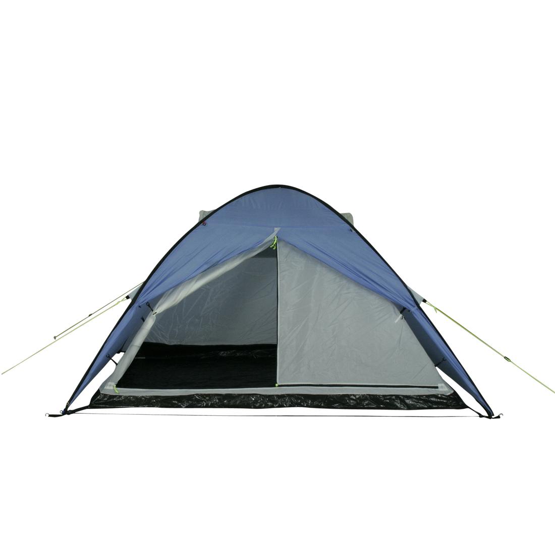 Nuevo melamina camping utensilios line blanco azul camping utensilios OVP 4 personas