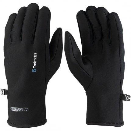 Trekmates Brandreth Glove XL - leichter Micro Fleece Finger Handschuh, als Innen- oder Aussenhandschuh nutzbar, unisex