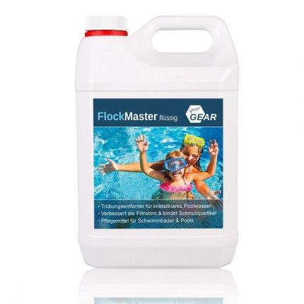 yourGEAR Flüssig Flock 5L - konzentriertes Flockungsmittel für Sandfilter - Trübungsentferner für klares Poolwasser