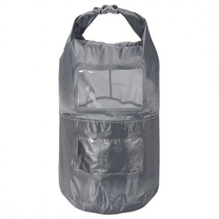 Trekmates Multi Tier Dry Lite Liner 25L - ultra leichter und kompakter Packsack mit Sichtfenster und Packfachaufteilung