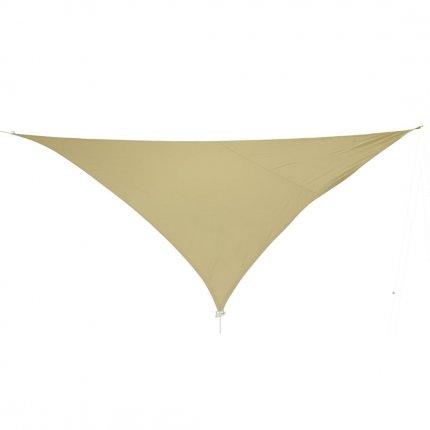 10T WILSON 500 - Dreieckiges Sonnensegel Tarp 500cm wasserabweisend 90% UV-Schutz