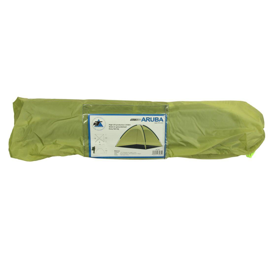 Aruba XL UV 50 Strandmuschel Strandzelt 180x180x120cm Windschutz Sonnenschutz