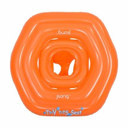Jilong Baby Seat Plus - aufblasbarer Schwimmsitz für Babys bis 15kg mit 3 Sicherheits-Luftkammern